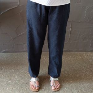 Sue Pant - navy and black reversible pant