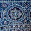 Bedcover - indigo ajrakh block print